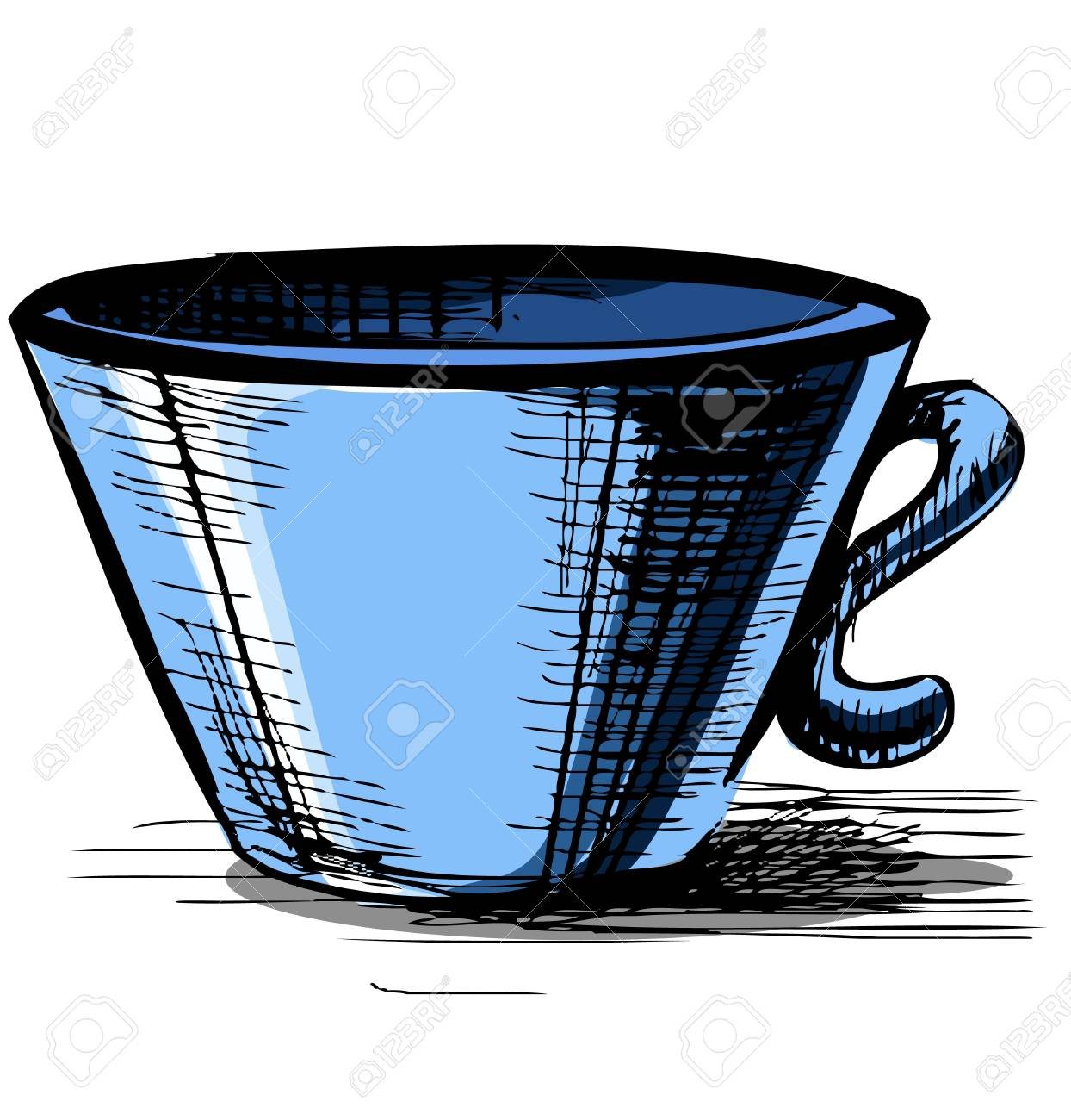 Cup isolated Stock Vector - 18269431