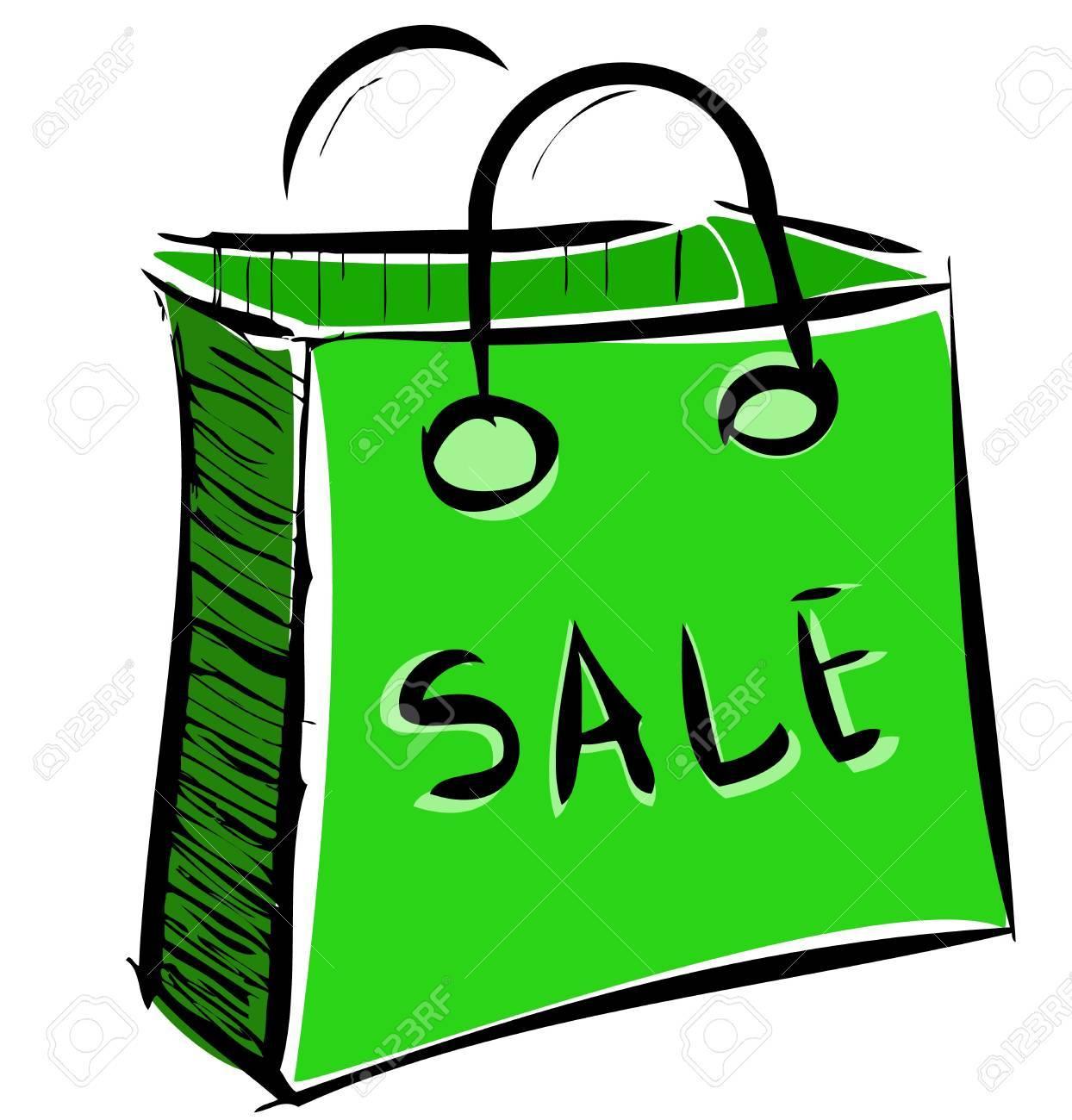 Sale bag icon Stock Vector - 18447427