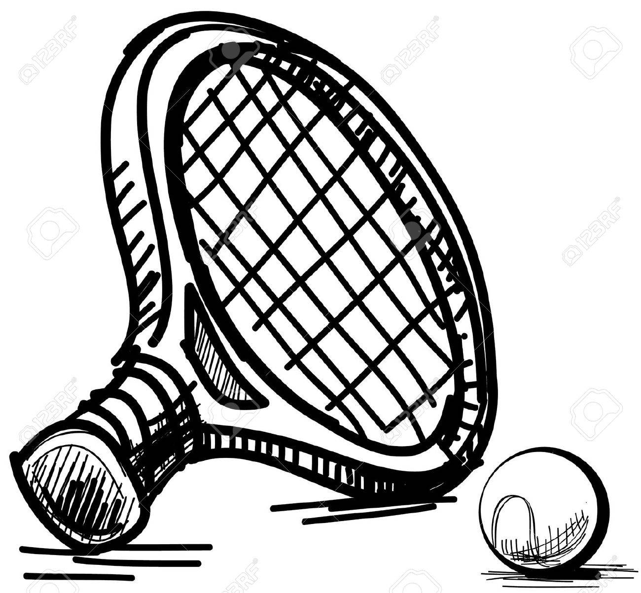 Tennis equipment Stock Vector - 18966903