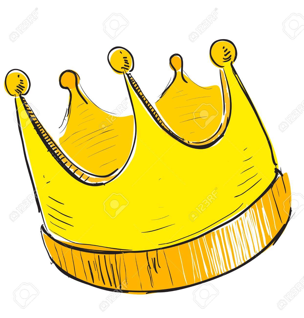 Cartoon Crown Simple / They are widely known being worn by kings or queens crowns are often made of gold and precious gems.