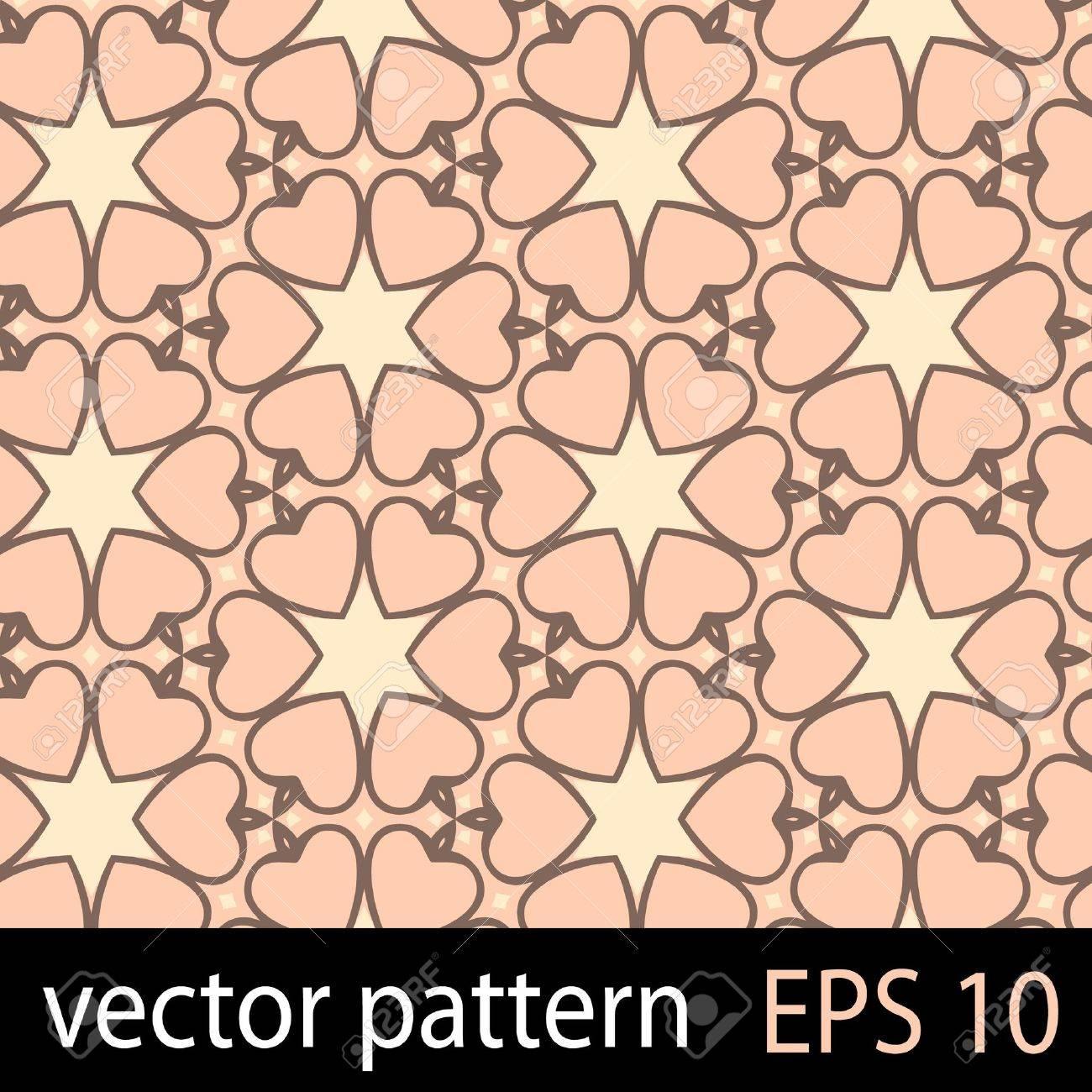 Hearts pattern Stock Vector - 19330335