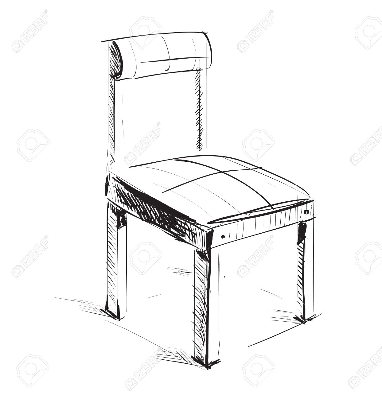 Chair Sketch sketch chair icon royalty free cliparts, vectors, and stock