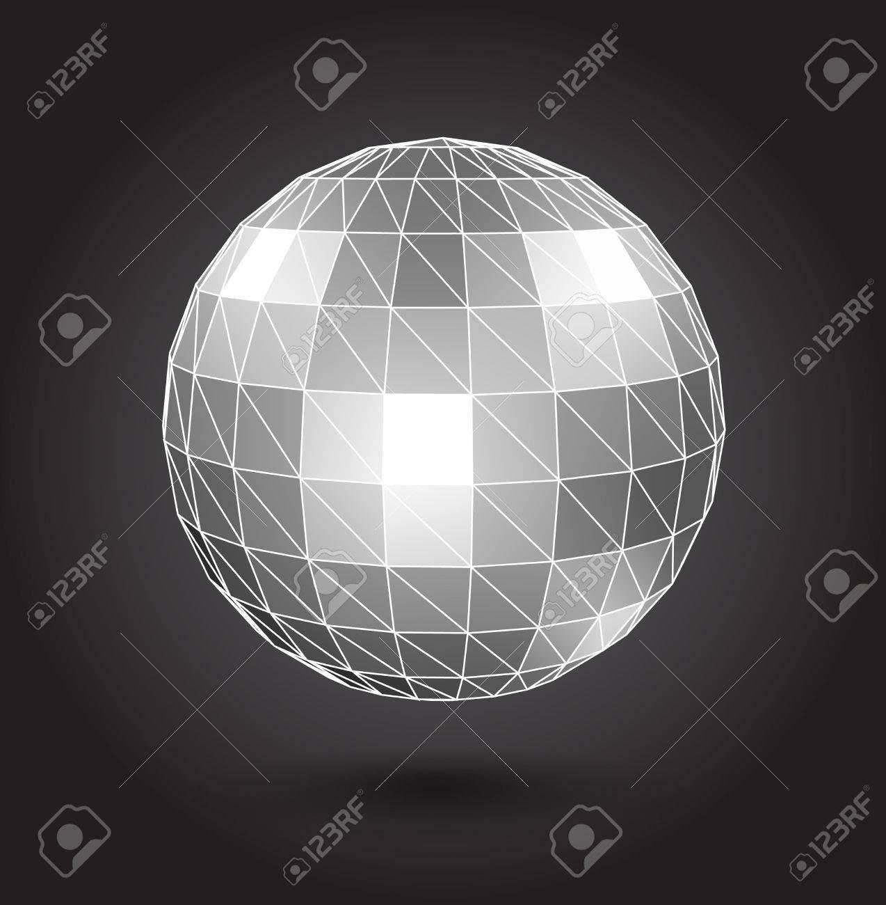 Disco ball Stock Vector - 19591916