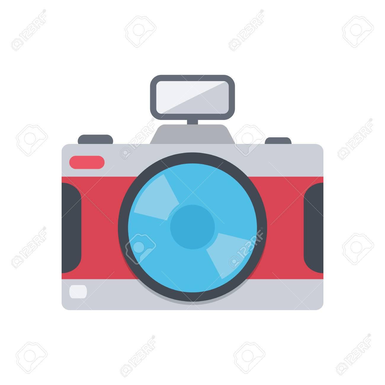Camera. Stock Vector - 37673545