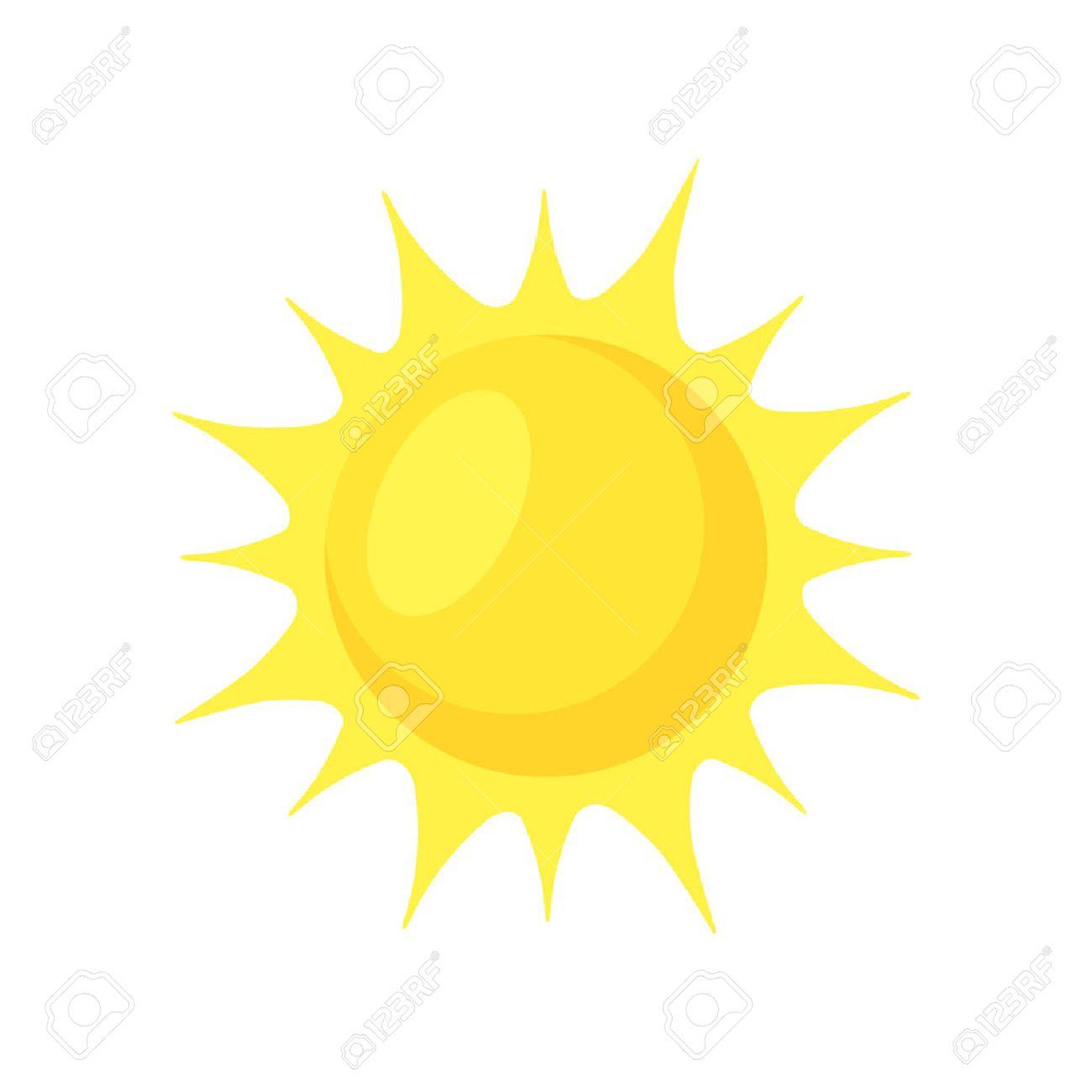 Sun shining. Stock Vector - 39847260
