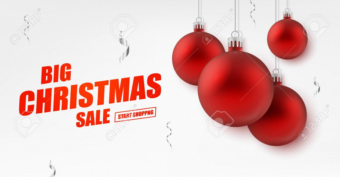 Christmas And New Year Holiday Sale Ad Banner Royalty Free Cliparts Vectors And Stock Illustration Image 133588912