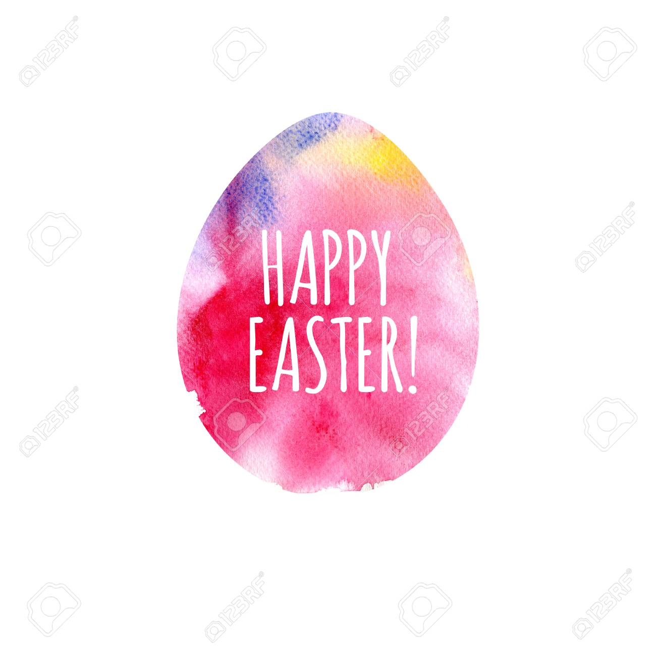 happy easter greeting card modern happy easter template for stock