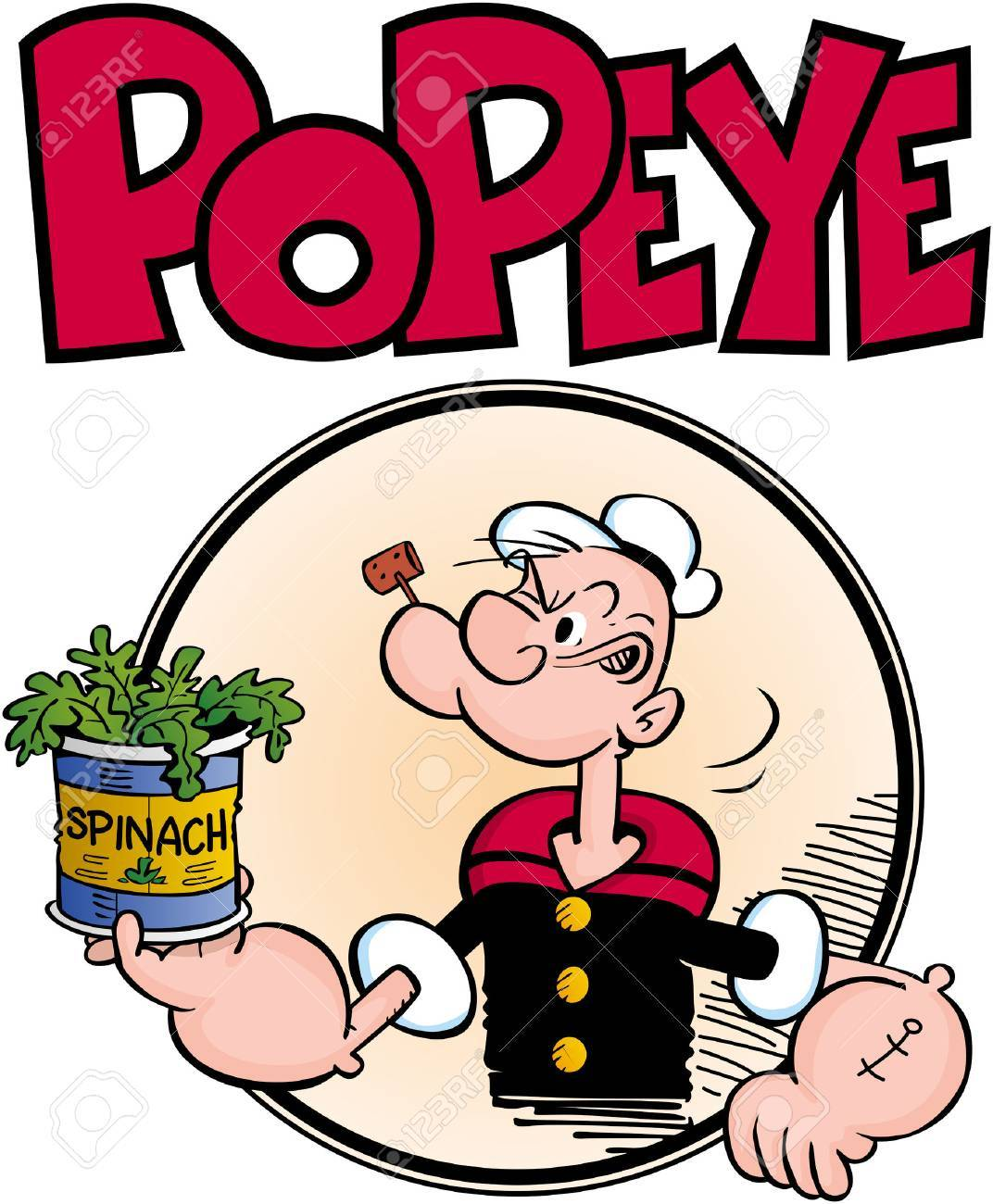 popeye sailor man illustration stock photo picture and royalty free