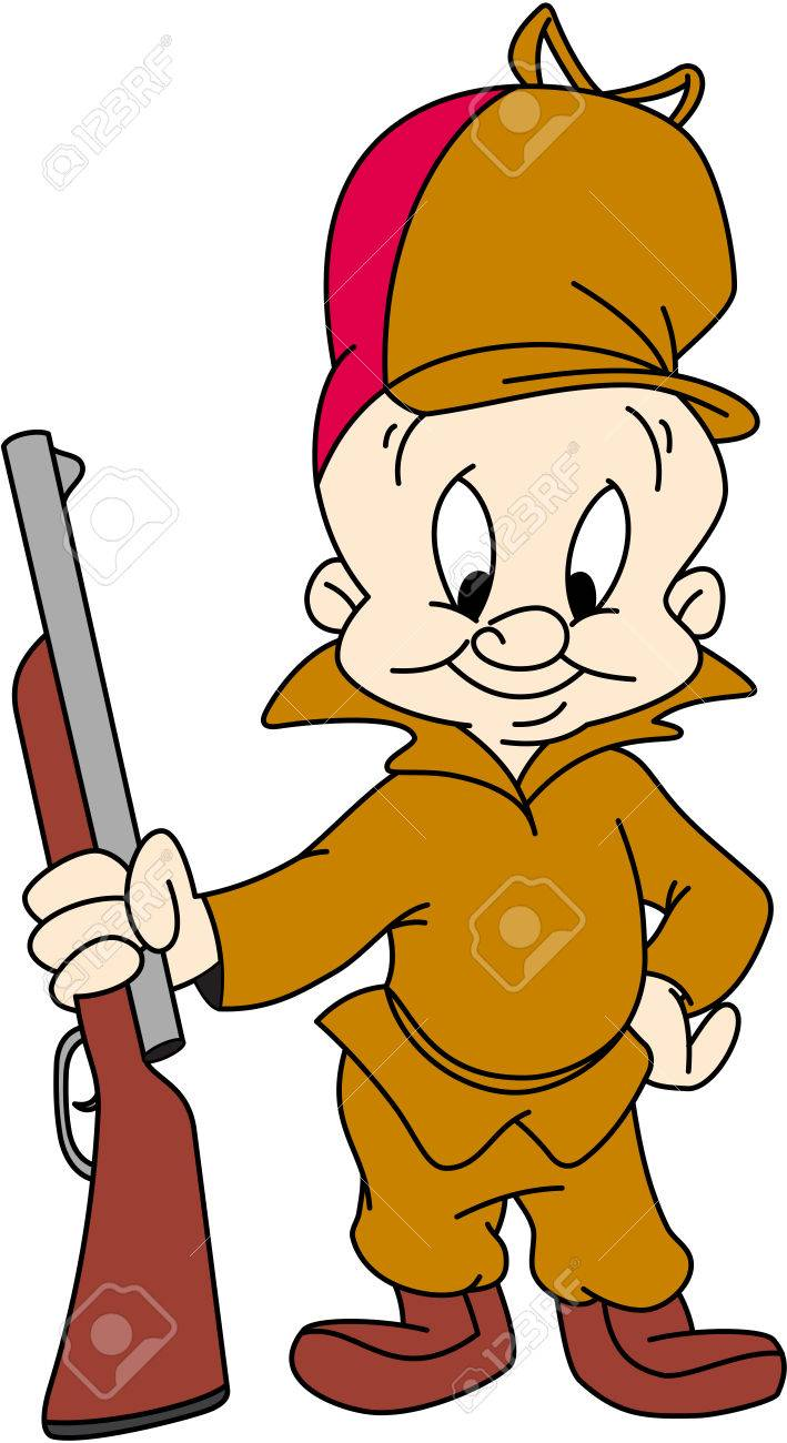 elmer fudd hunt illustration stock photo picture and royalty free rh 123rf com elmer fudd clipart elmer fudd hunting clipart