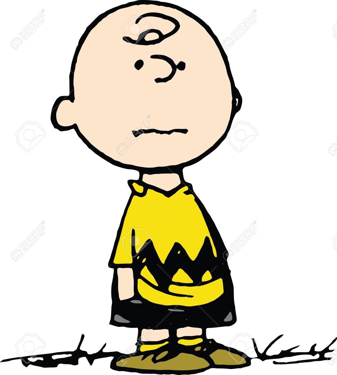 Ilustración De Dibujos Animados De Charlie Brown Fotos, Retratos ...