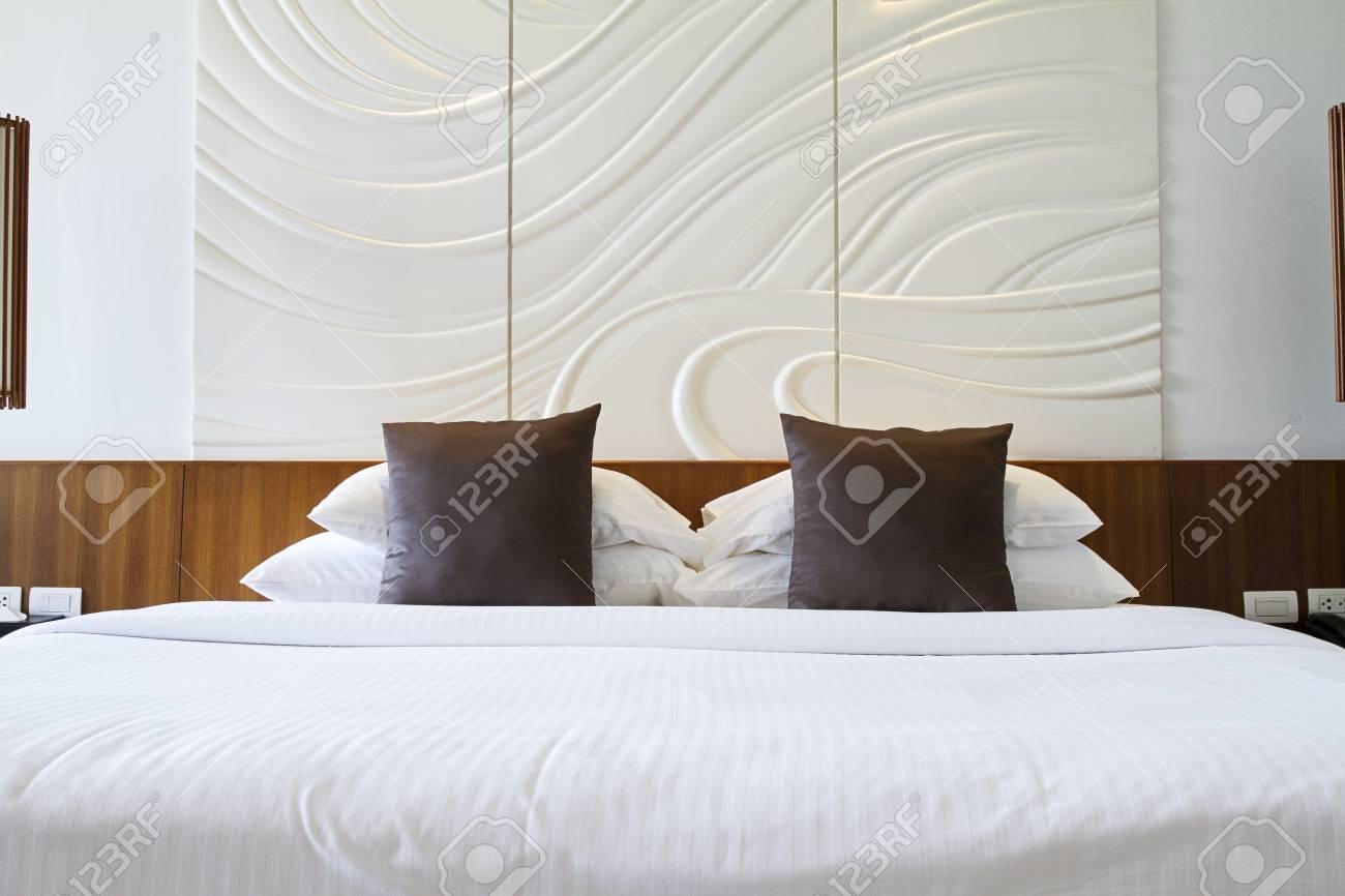 Banque Du0027images   Lit Chambre à Coucher Intérieur Confort élégance King Size