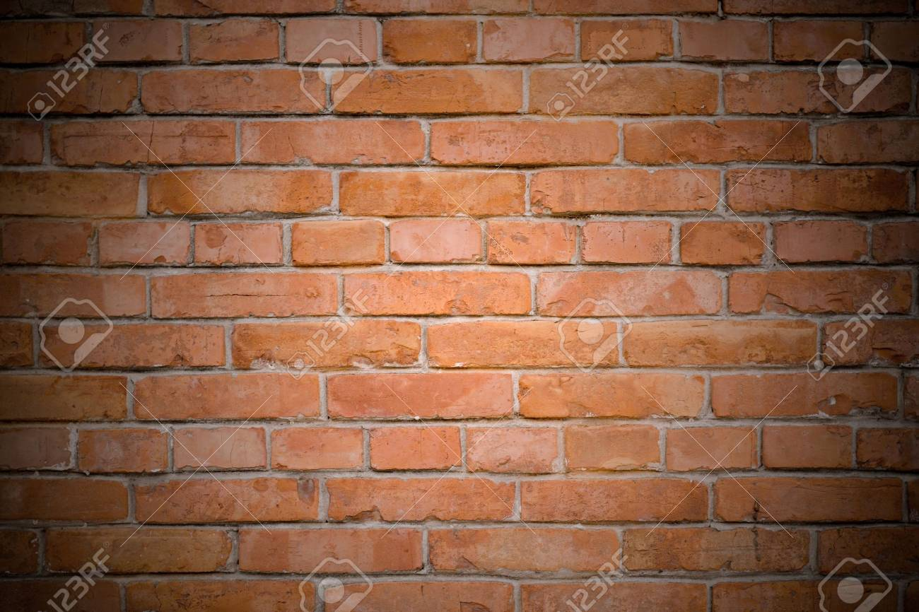 old red brick wall background Stock Photo - 8497228