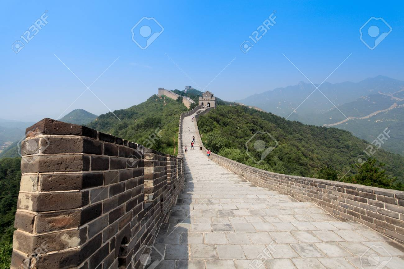 the great wall of China Stock Photo - 10283603