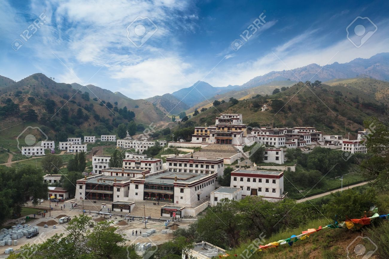 Wudangzhao Is Famous Temple Of Lamaism In Baotou City Inner