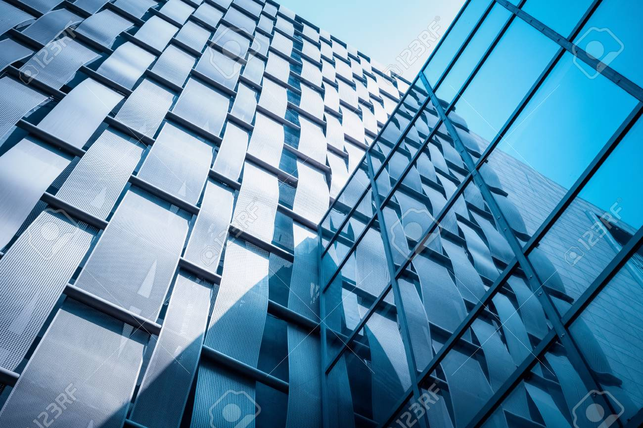 Exterior Wall With Glass Curtain Wall Closeup Modern Architectural Stock Photo Picture And Royalty Free Image Image 90598291