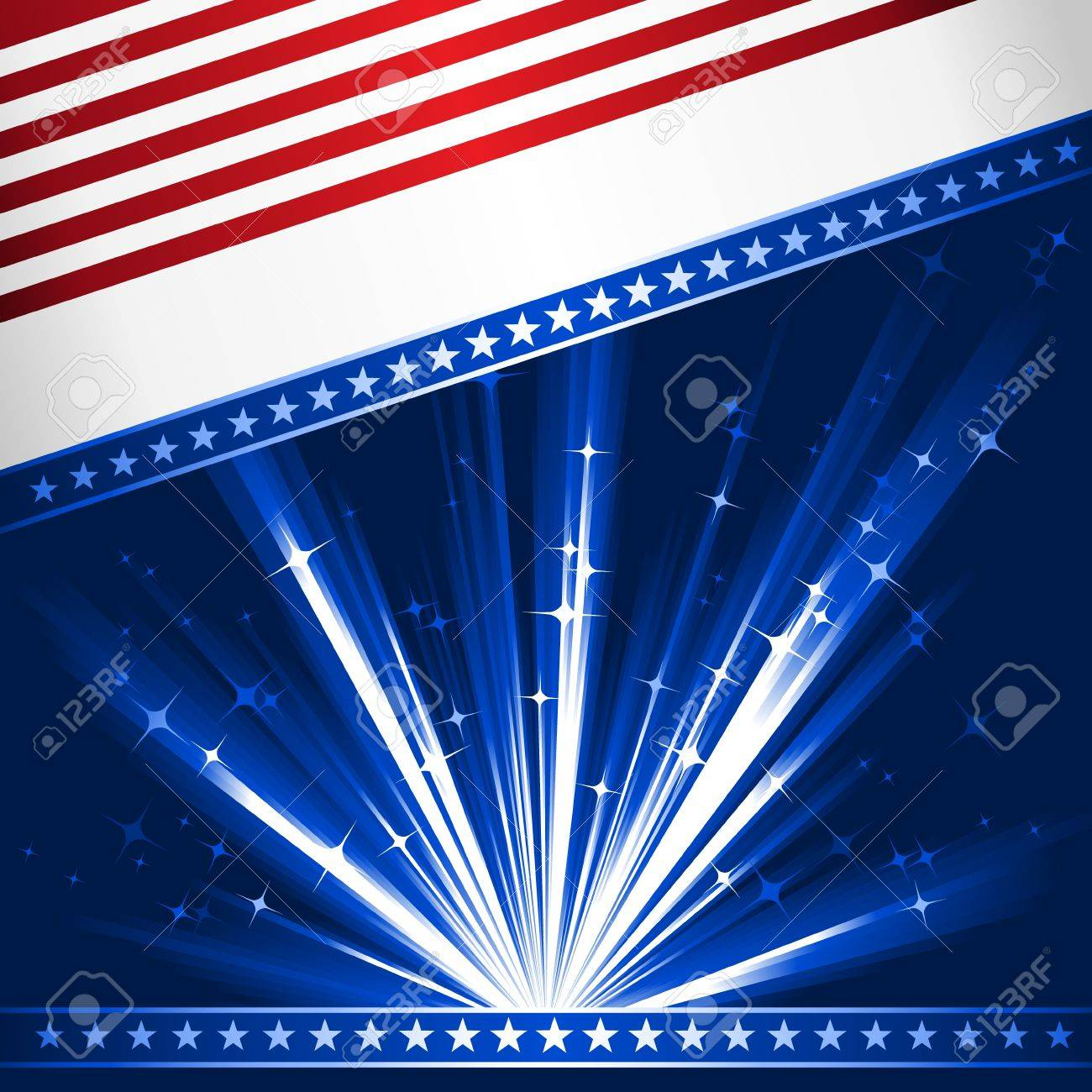 Background image o linear gradient - Patriotic 4th July Celebration Background Use Of 6 Global