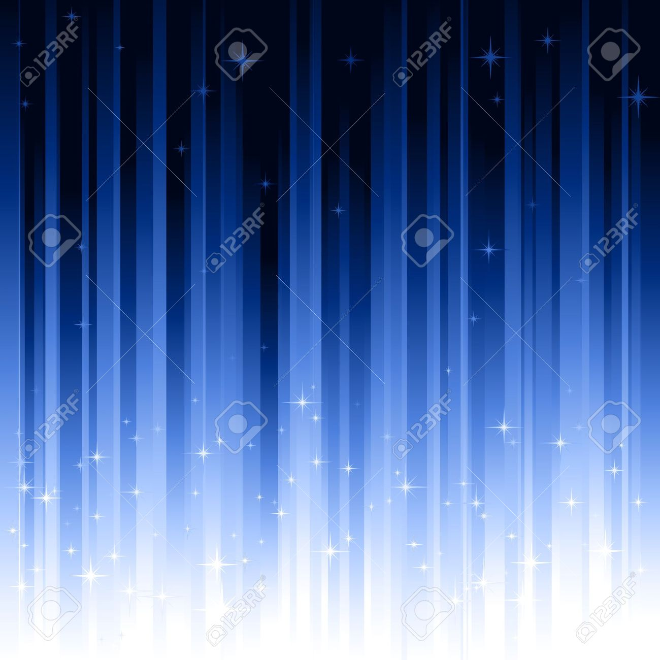 Background image linear gradient - Blue Festive Background With Stars Stripes Controlled By 1 Linear Gradient Use Of 10