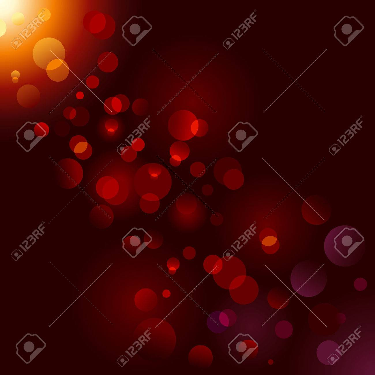 Magic sparkle, light dots on black background with copy space. Stock Vector - 8028964