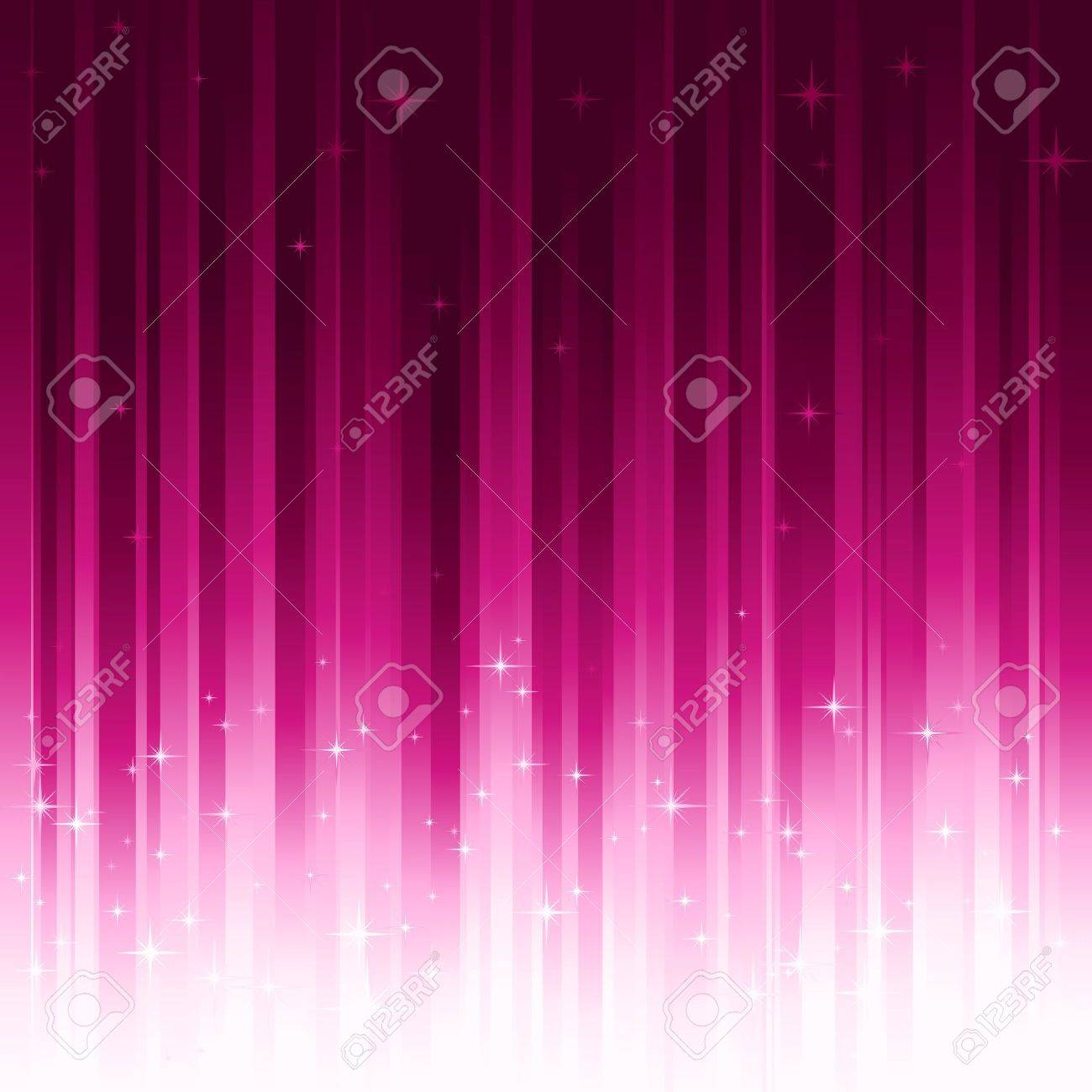 Background image o linear gradient - Purple Festive Background With Stars Stripes Controlled By 1 Linear Gradient Use Of 10
