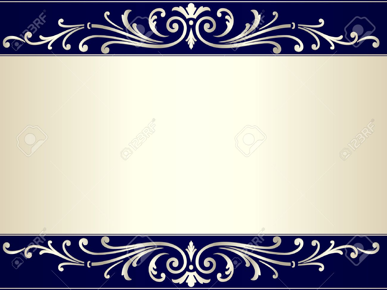 Elegant and stylish vintage background with scrolls and space for your text. Use of gradients and global color swatches. Artwork grouped and layered. Stock Vector - 6556156
