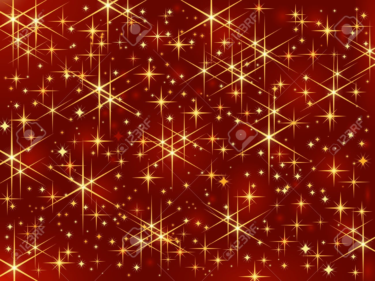 Gold Sparkles Clipart Gold Sparkle Dark Red