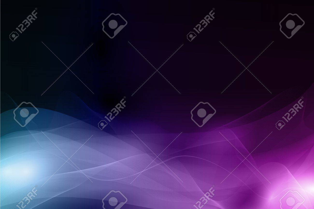 Horizontal abstract background with waves forming a soft pattern resembling smoke. Space for your text. EPS10. Stock Vector - 11050868