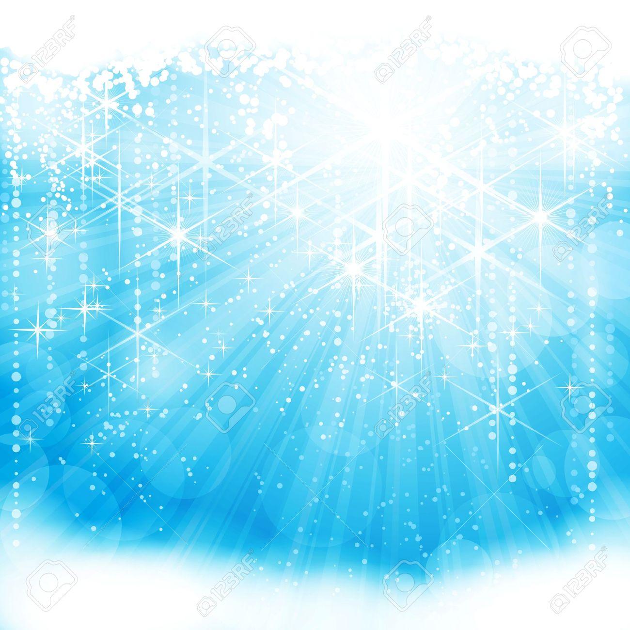 Light blue background - Festive Sparkling Light Blue Background Eps10 Stock Vector 11141413