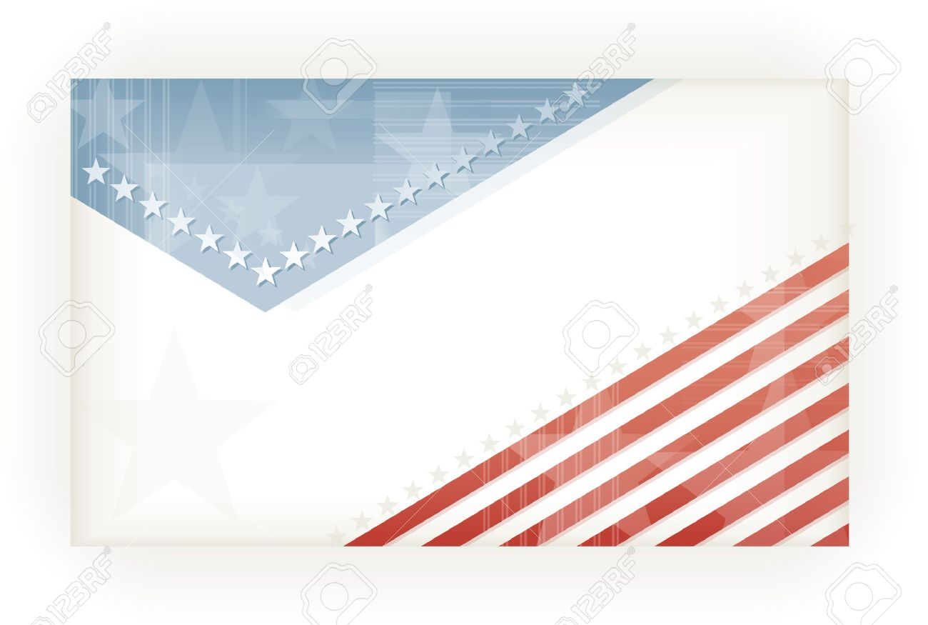 us american flag themed background business or gift card using