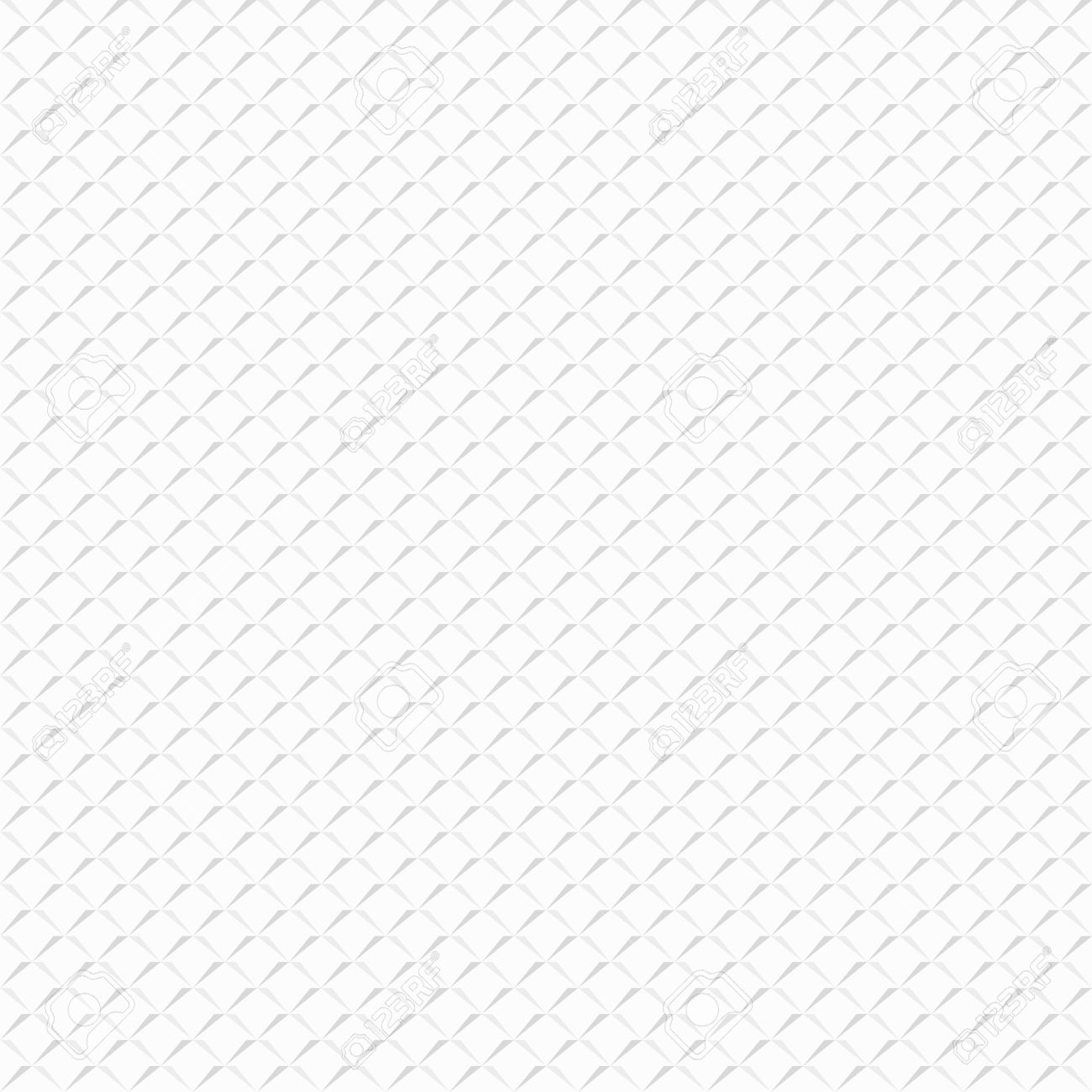 White Textured Background With A Pattern Of Simple Geometric