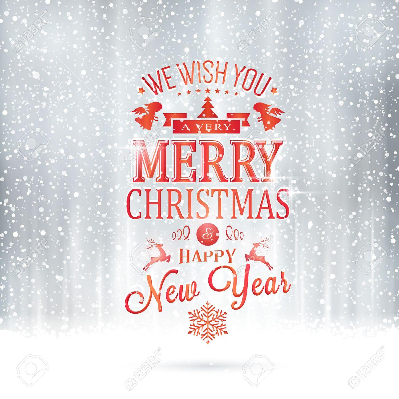 Rot Ich Wünsche Ihnen Ein Frohes Weihnachtsfest Und Ein Gutes Neues ...