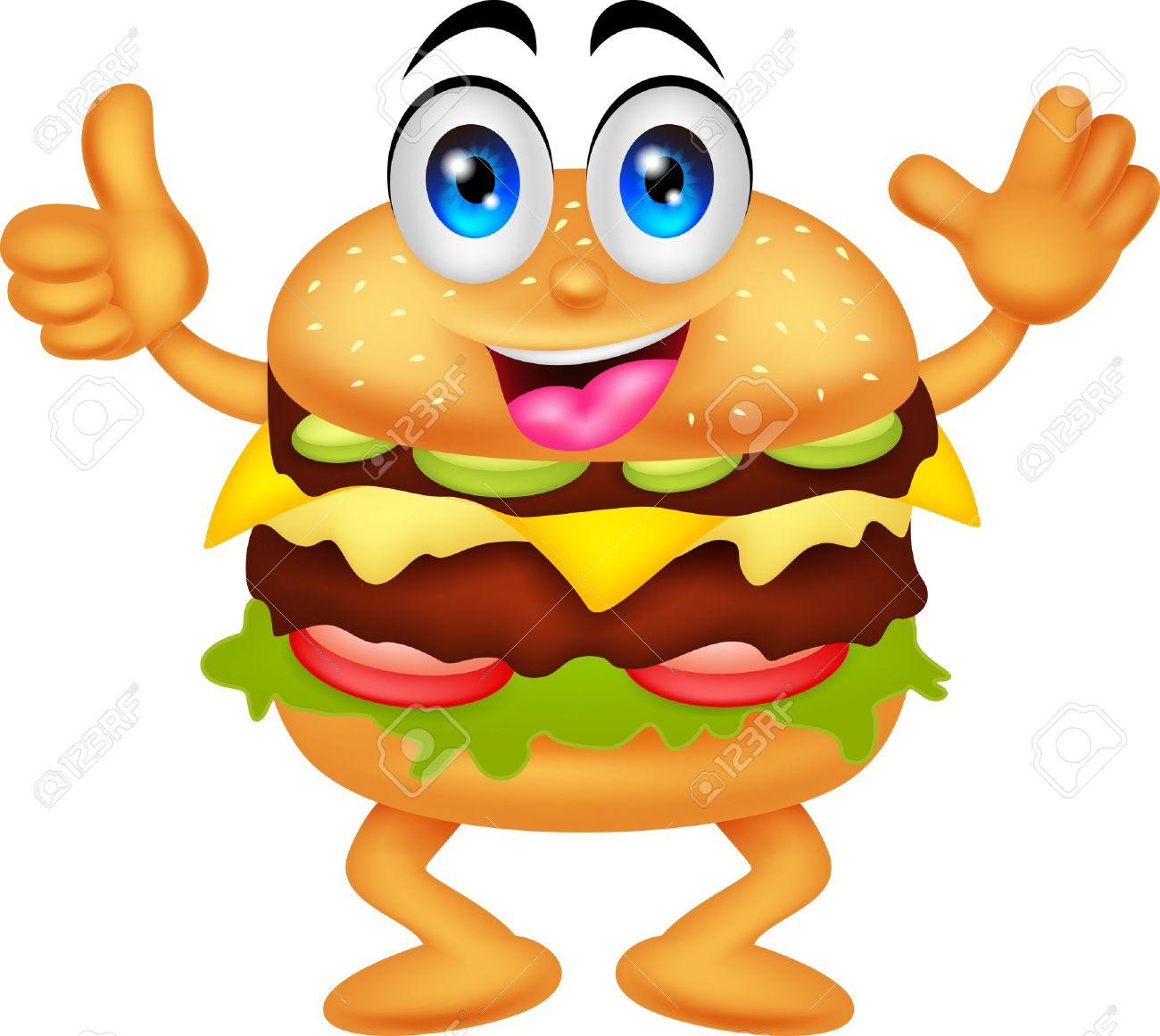 burger cartoon characters royalty free cliparts vectors and stock rh 123rf com burger clipart images burger clip art free