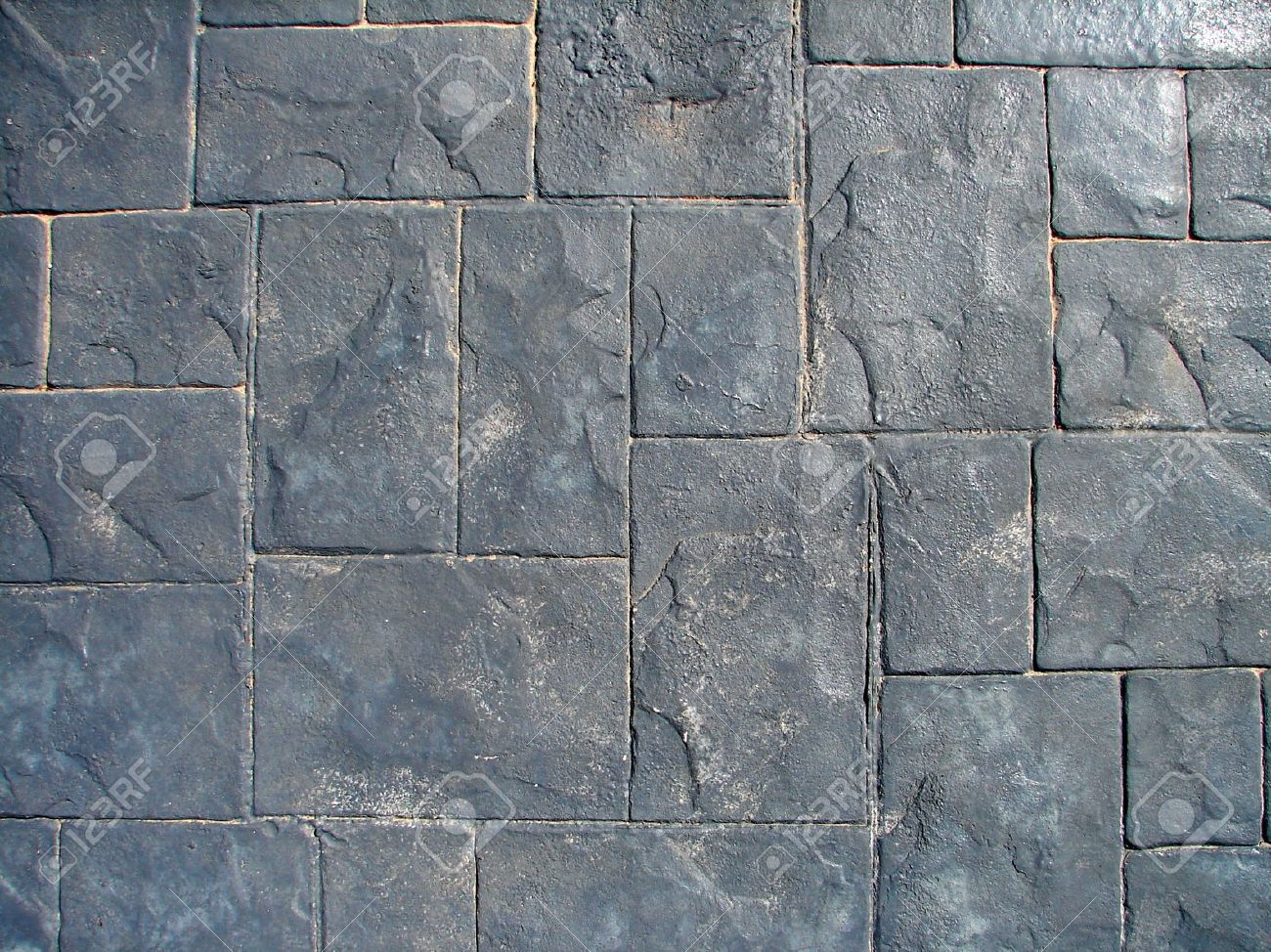Gray Concrete Floor Tiles Texture Stock Photo Picture and Royalty