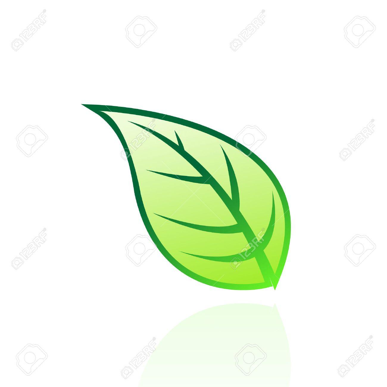 Verdes Logos Imágenes Hoja Logo Hoja Verde