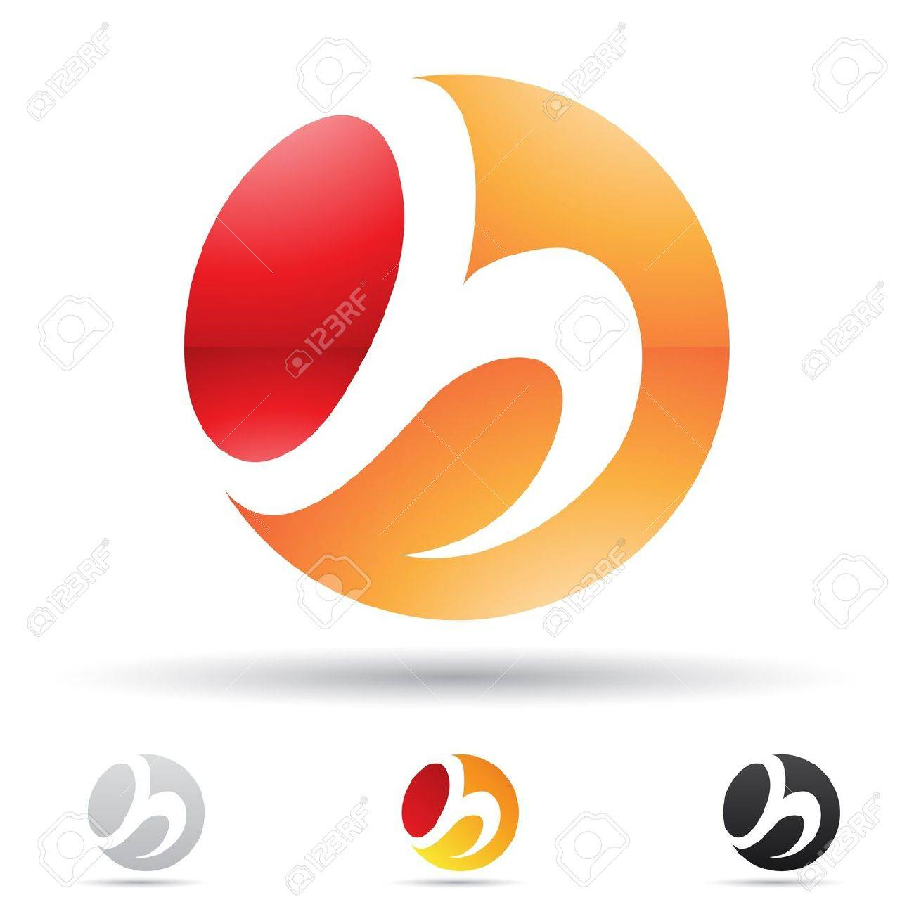 illustration of abstract icons based on the letter H Stock Vector - 14621854