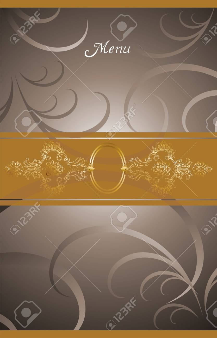 illustration background for food industry, menu, chocolate box, cover, label for wine. Stock Illustration - 6330544