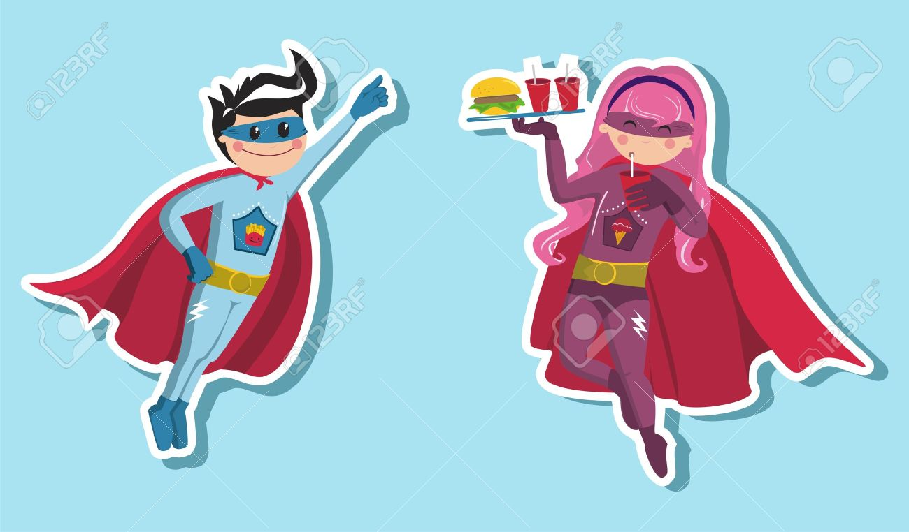 6,276 Super Kid Stock Illustrations, Cliparts And Royalty Free Super ...