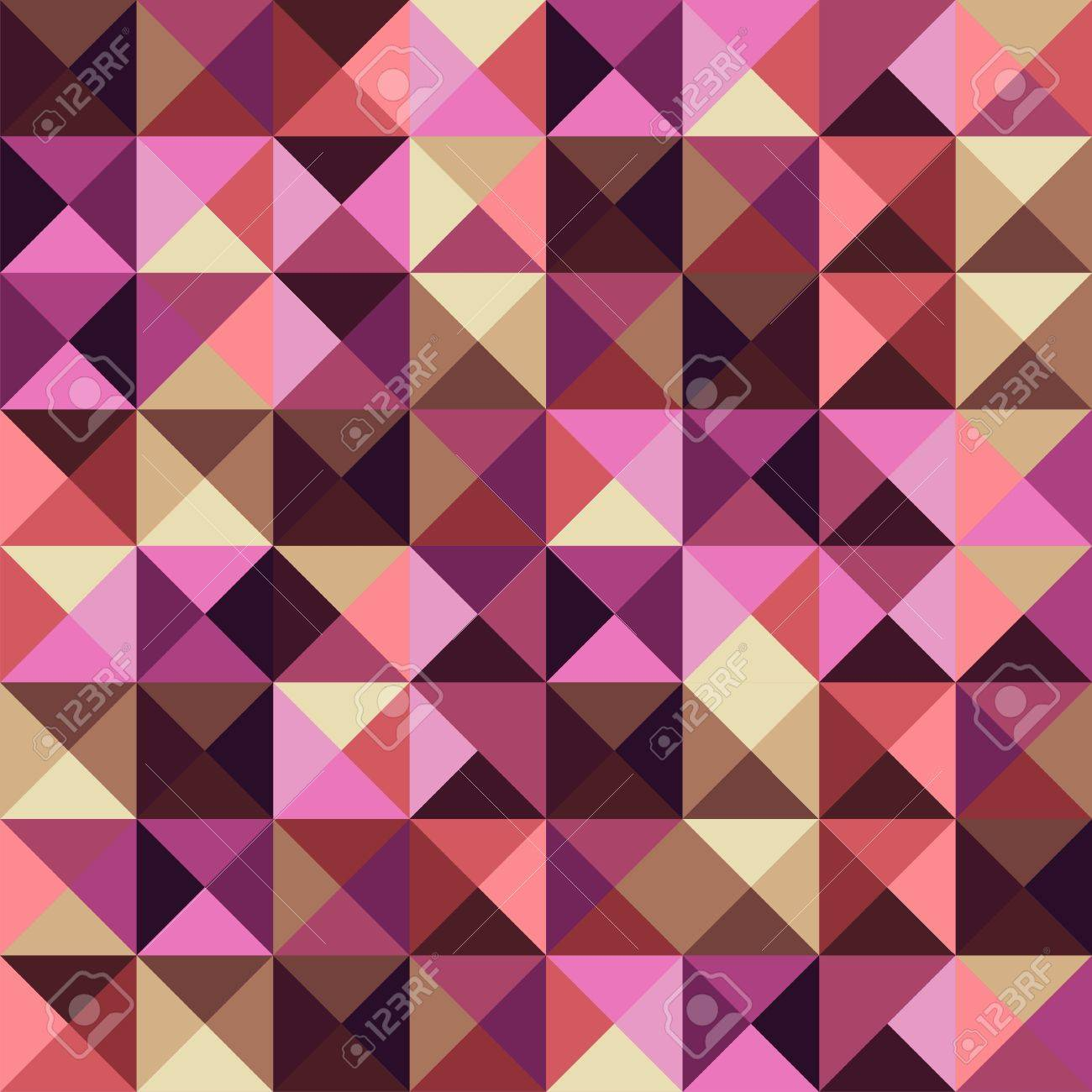 Abstract geometric vintage seamless pattern Stock Vector - 14574475