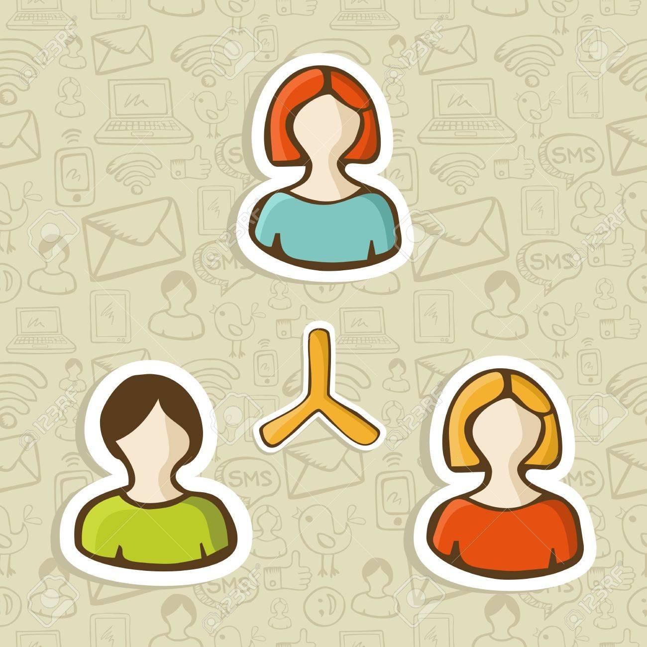 Los Medios Sociales Web De Mercadeo En Red A Través De La ...