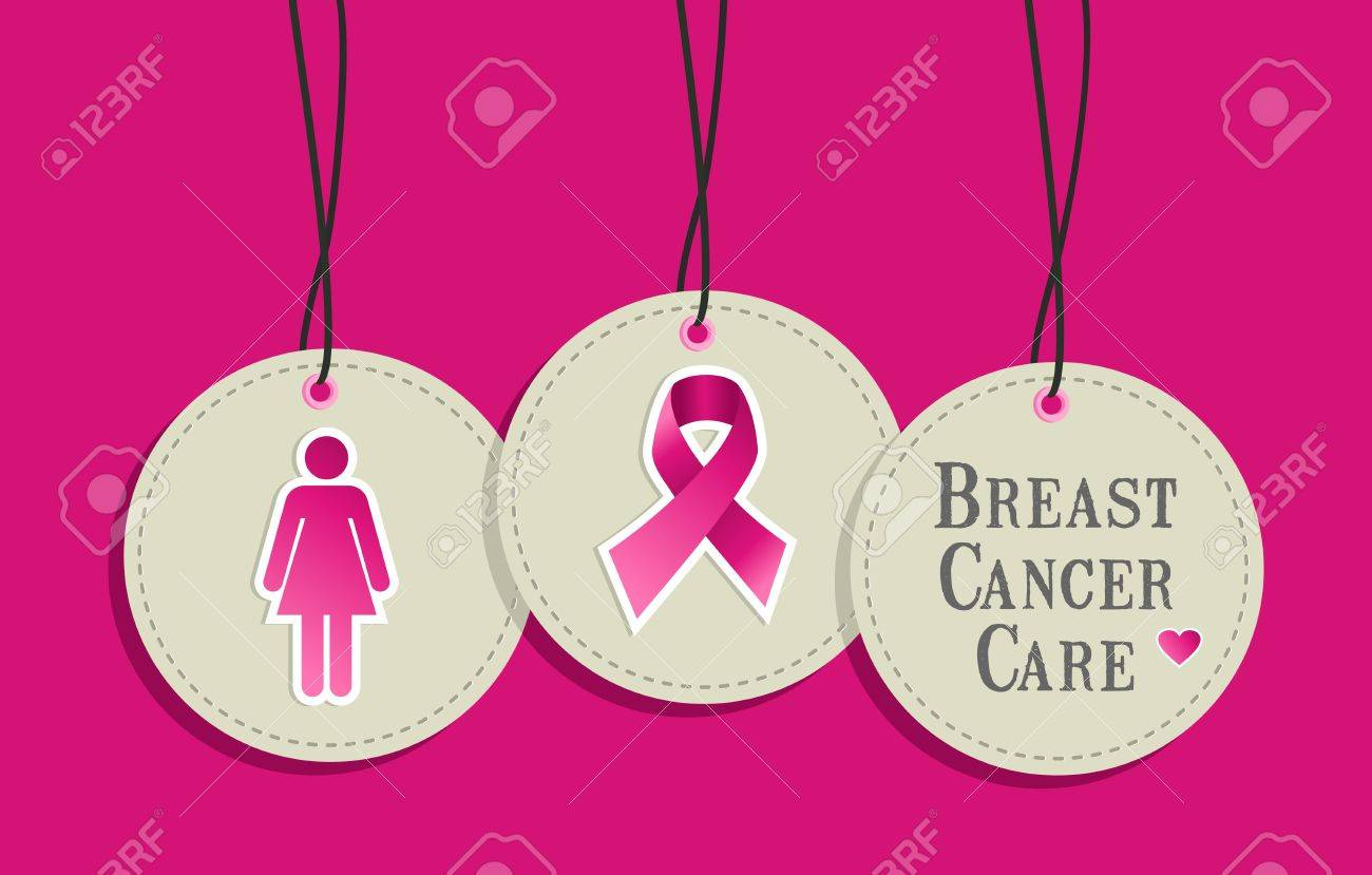 Breast cancer awareness symbols in hangtags set file layered breast cancer awareness symbols in hangtags set file layered for easy manipulation and custom coloring buycottarizona Images