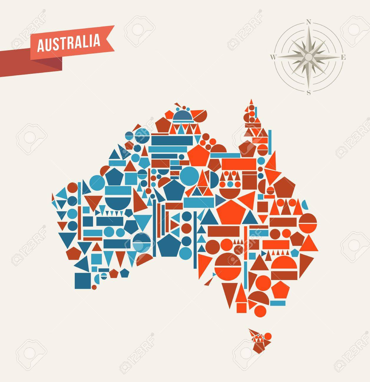 Maps Update 20001193 Map of Australia in the World Australia – Australia Map in World
