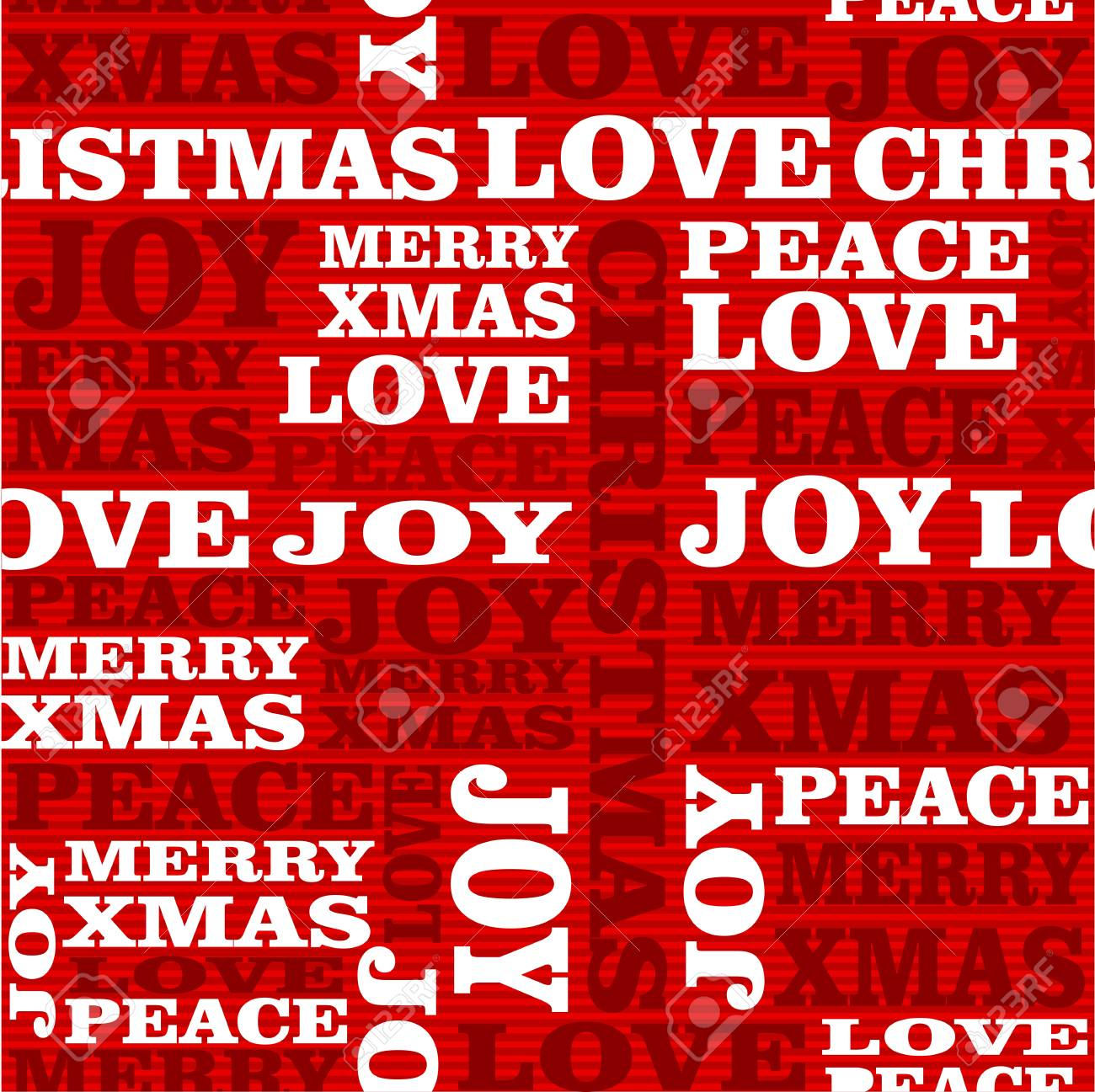 Merry Christmas text seamless pattern background  Vector layered for easy editing Stock Vector - 21600261