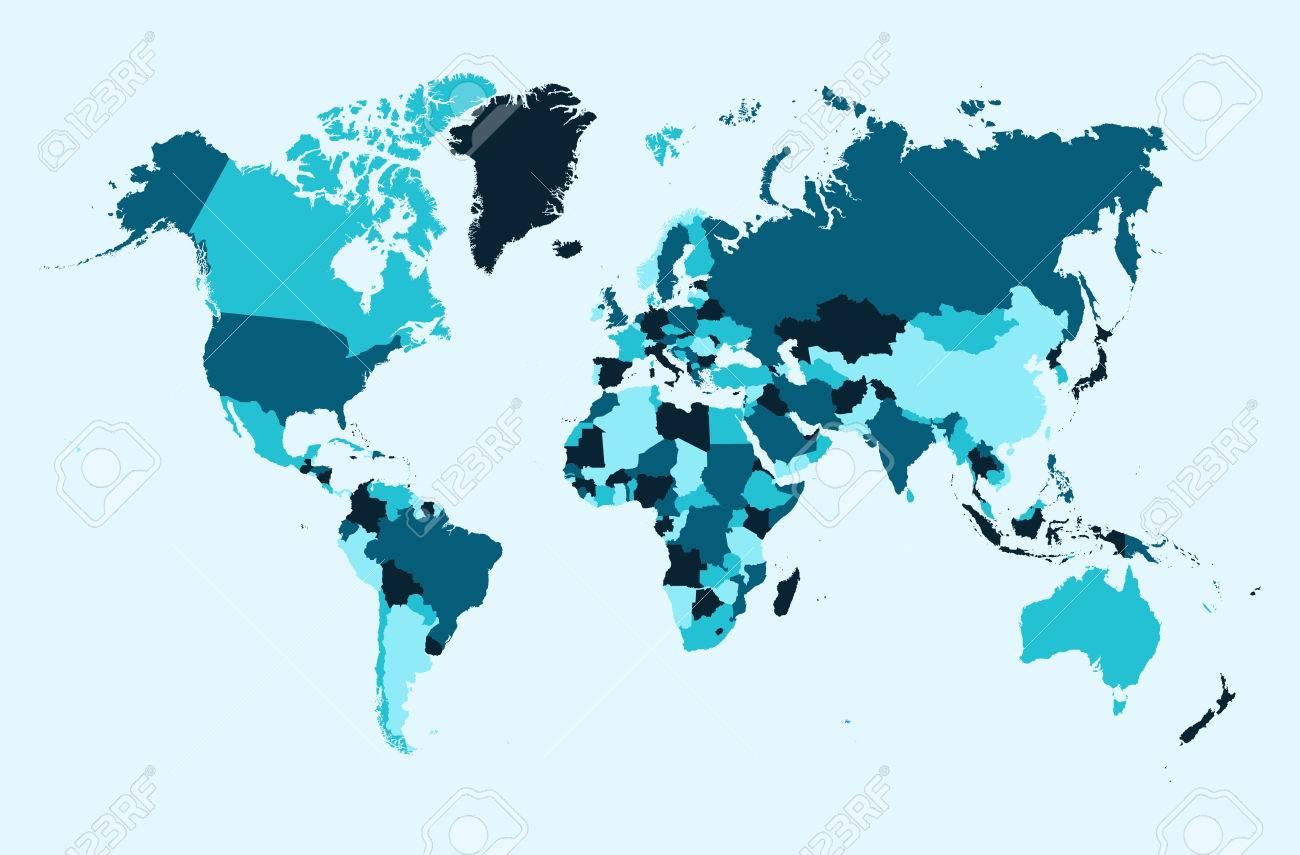 Mapa del mundo los pases azul atlas ilustracin eps10 archivo foto de archivo mapa del mundo los pases azul atlas ilustracin eps10 archivo vectorial organizado en capas para facilitar la edicin gumiabroncs Image collections
