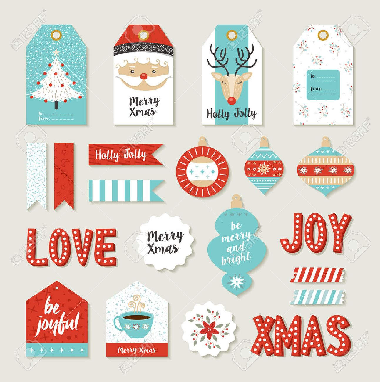 picture relating to Merry Christmas Sign Printable identified as Merry xmas sbook fixed of printable Do-it-yourself tags, indications and..