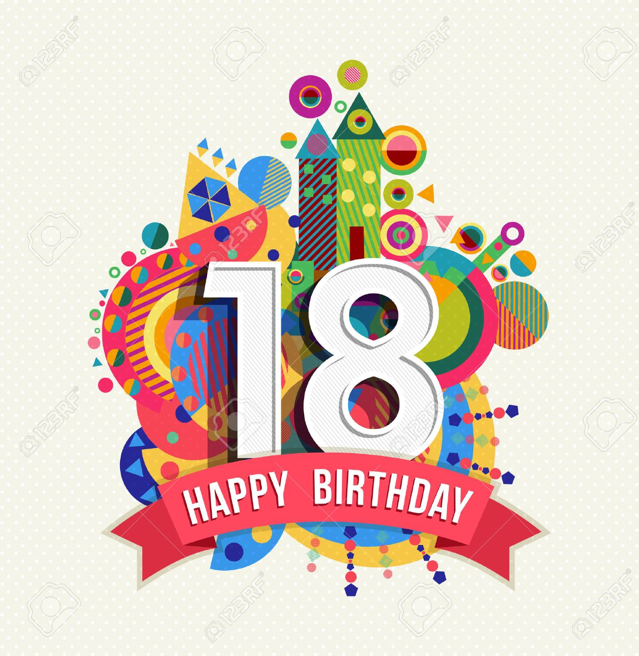 b735336de Feliz Cumpleaños Dieciocho 18 Años