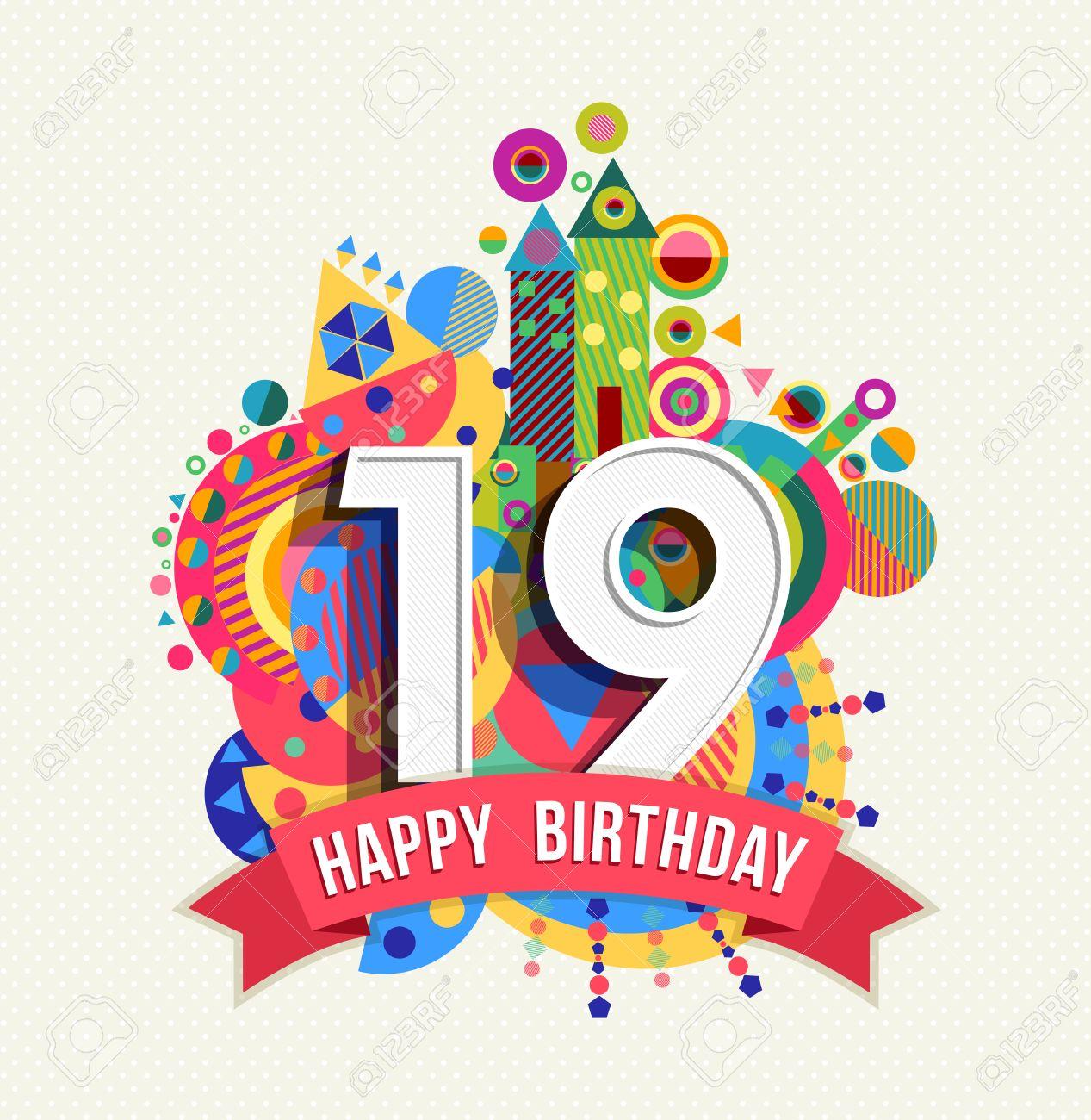 19 birthday number 19