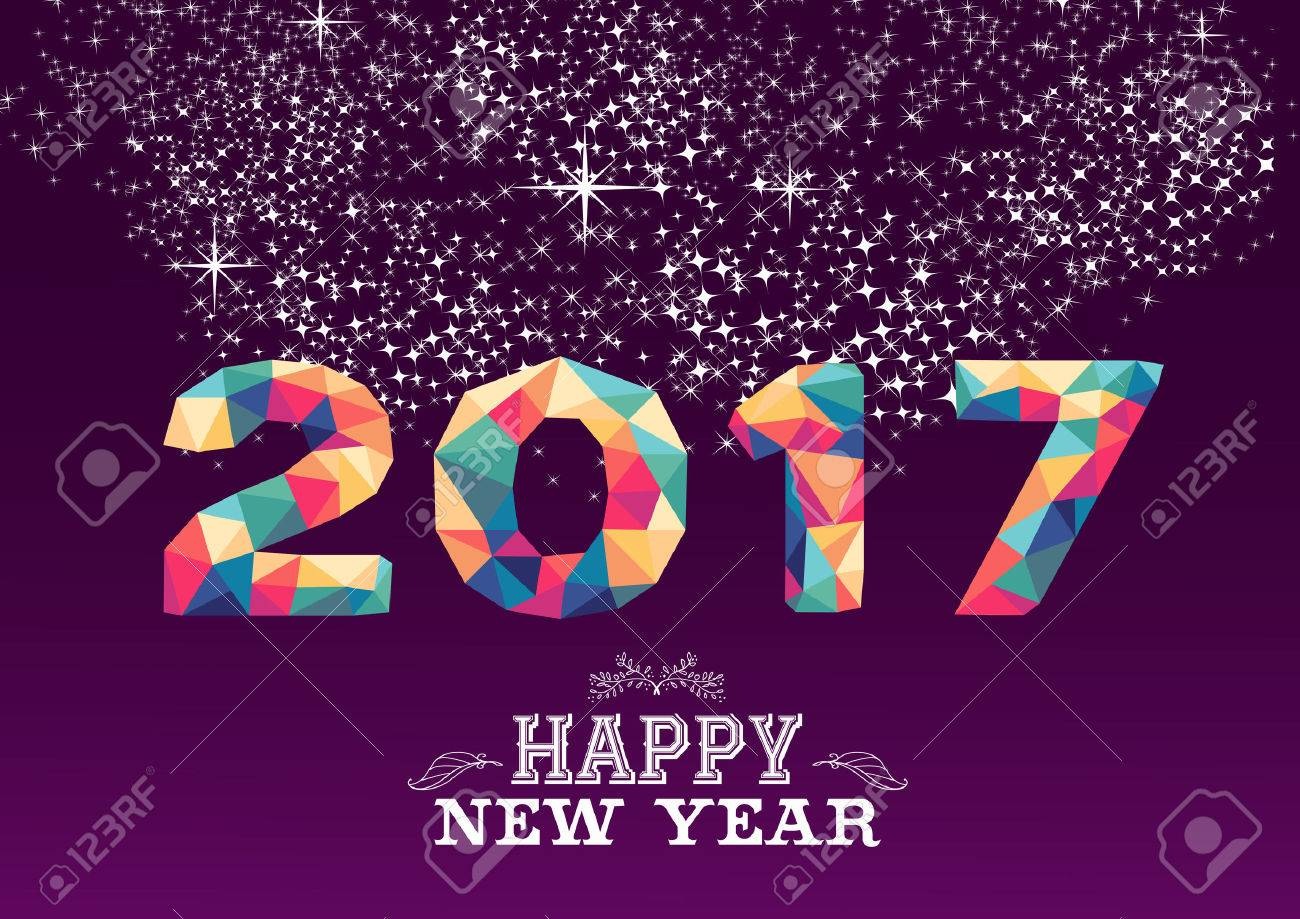 Free Stock Photos Online Vector Happy New Year 2017 Low Poly