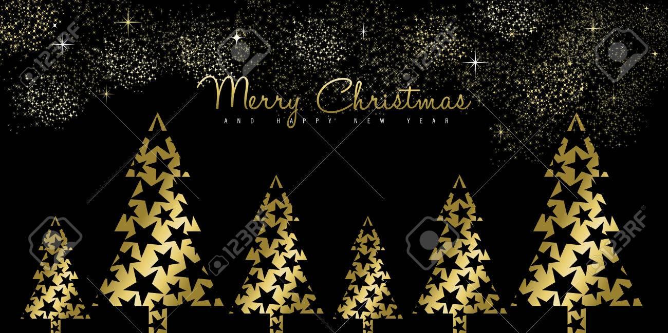Frohe Weihnachten Gold.Stock Photo