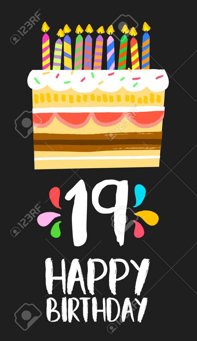 Imagenes de feliz cumpleanos numero 19