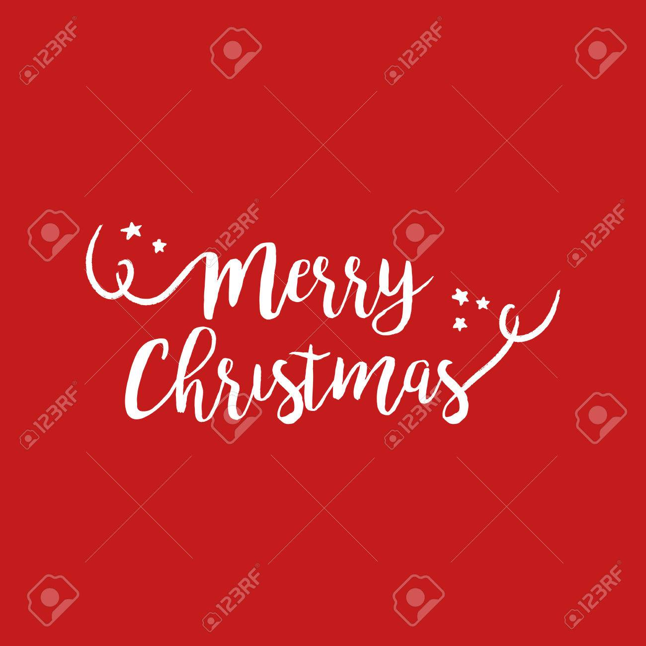 Merry christmas calligraphic quote design handwritten lettering merry christmas calligraphic quote design handwritten lettering illustration for holiday season greeting card eps10 m4hsunfo