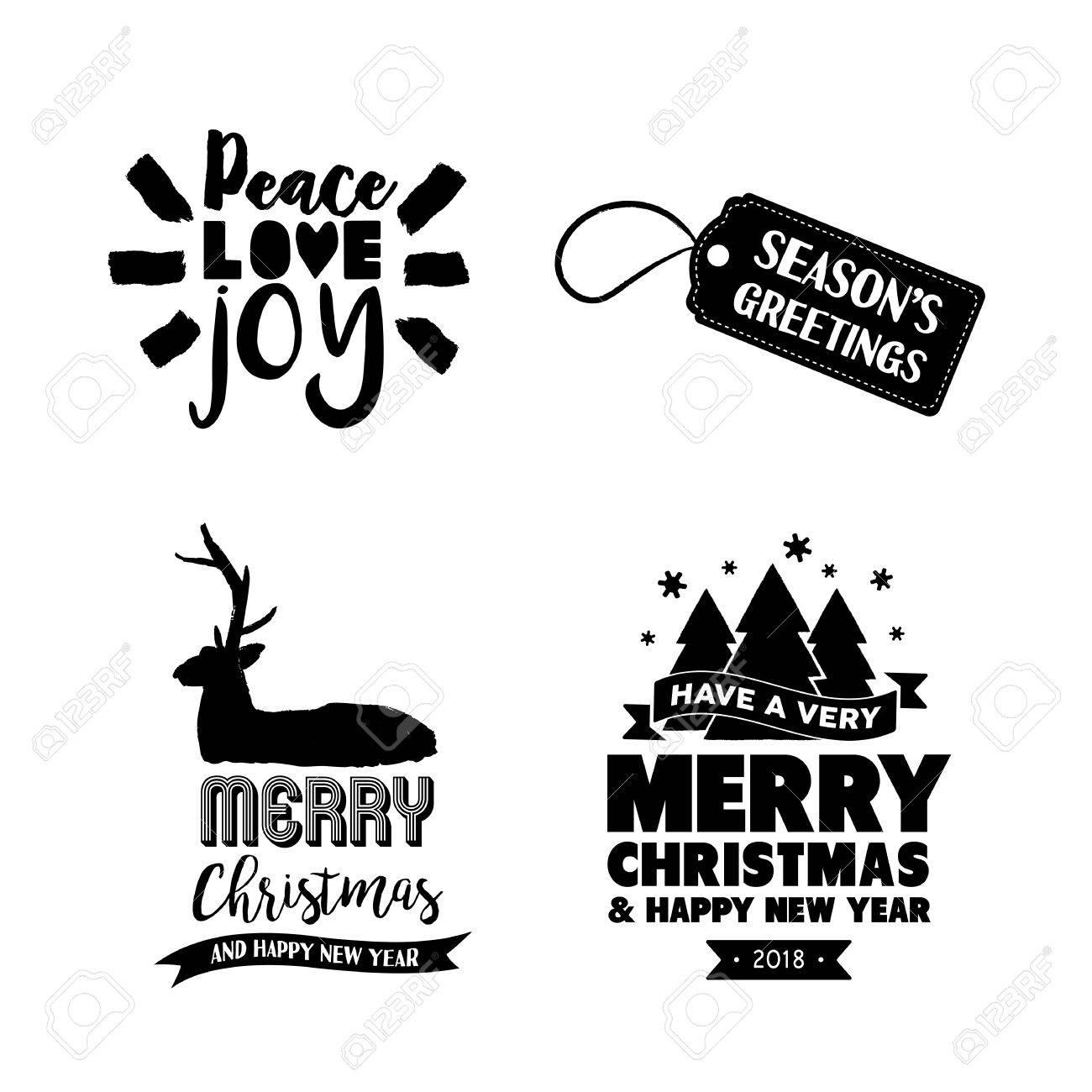 Schriftart Weihnachten.Stock Photo